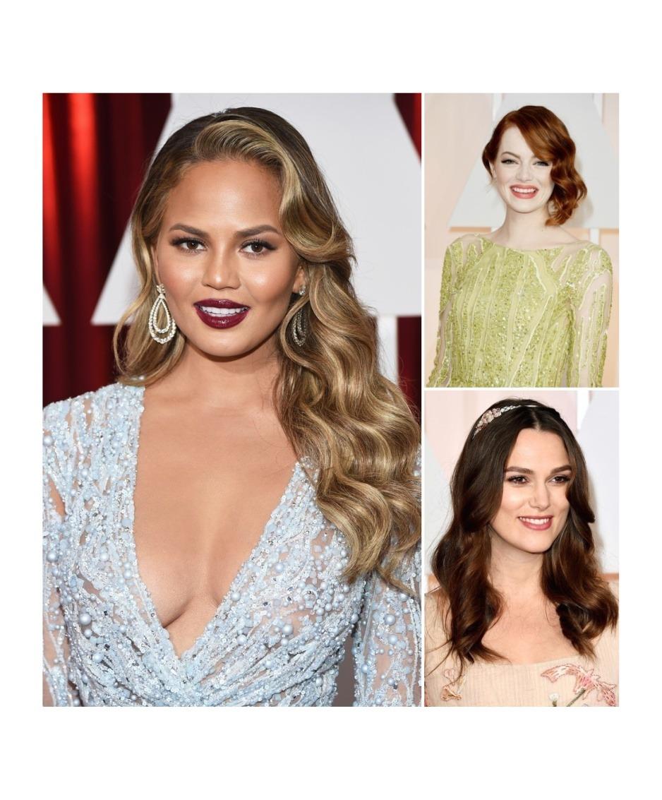 2015 Oscar Hairstyles