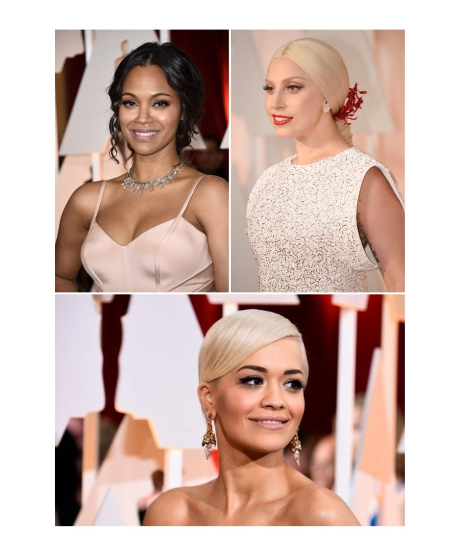 Hairstyles From The 2015 Academy Awards