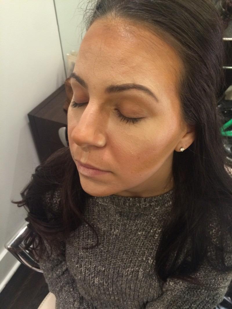 Highlight and Contour with Makeup