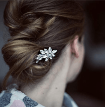 Bridal hair ornament