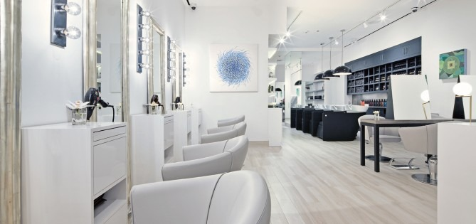Fabio Scalia Luxury Salon Soho Interior