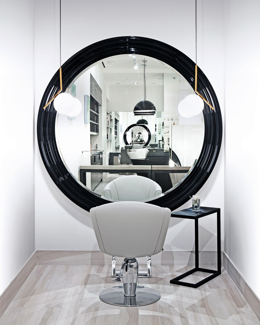 Fabio Scalia Luxury Soho Salon Interior